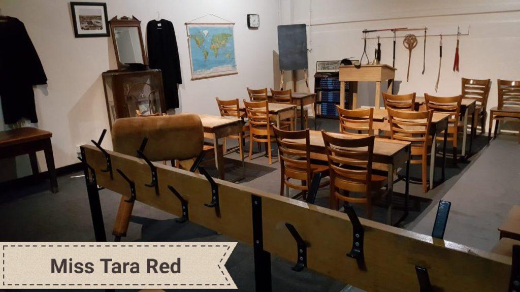 Miss Tara Red's schoolroom. Dominatrix, disciplinarian and caning specialist Mistress in Birmingham